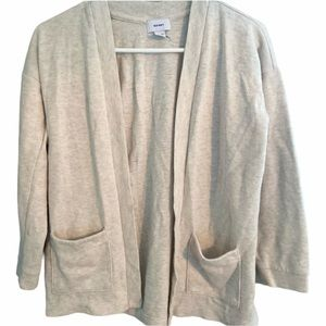 NEW Girl's Off White Old Navy Cardigan 10-12yrs